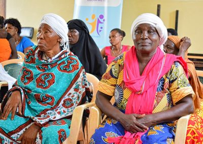 Jamii thabiti, women Religious leaders training