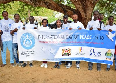 International day of peace, Kilifi County